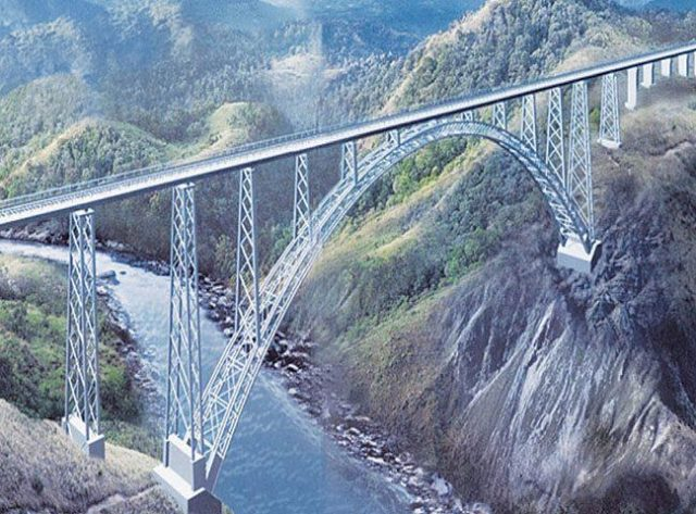 Bridge over Chenab River
